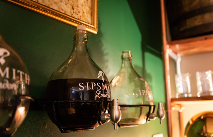 Sipsmith Hot Gin Pop Up Bar at The Conductor, London